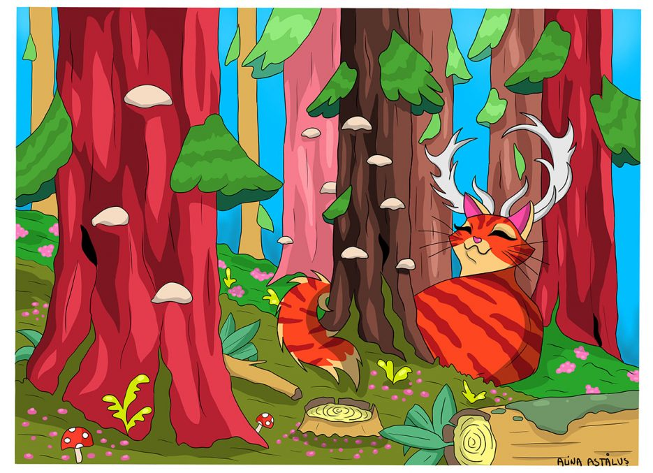 Alina Astalus - The Forest Cat
