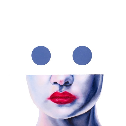 Giada Rotundo - Bubbles (2020). Oil on canvas, 50x50 cm