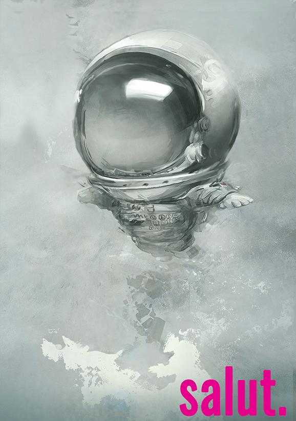Simona Groosa (Simpson) – Salut. Astronaut cu manșete