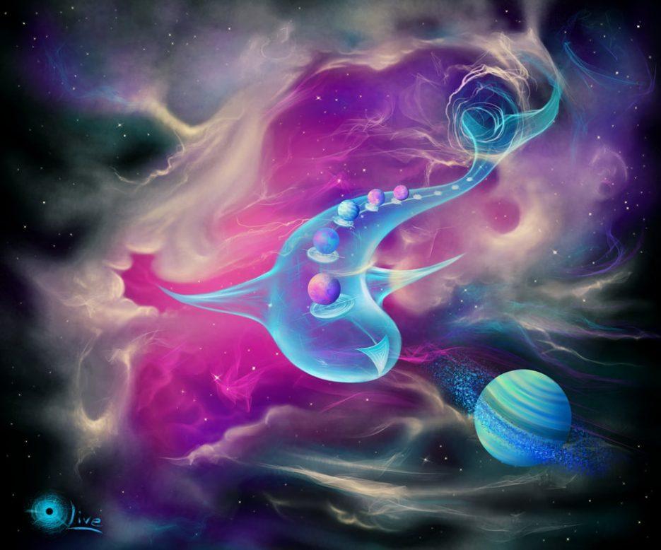 Blue Olive - Nebula
