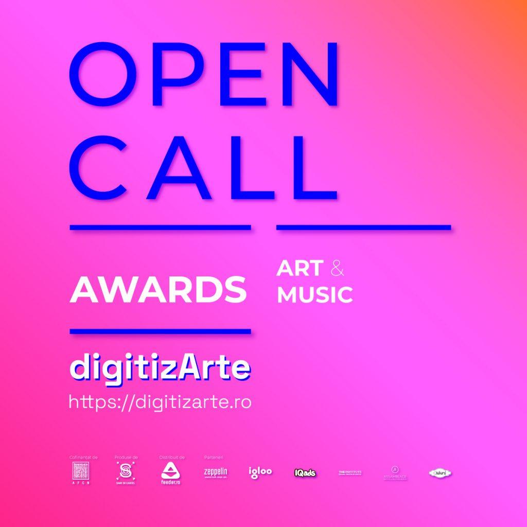 digitizARTE.ro open call art & music awards